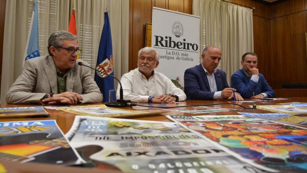 Presentacion de la Fiesta de la Vendimia de Leiro (Ourense)