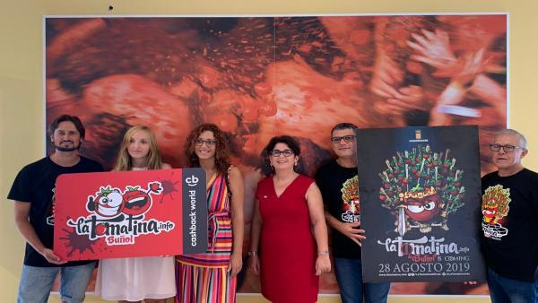 Presentación de La Tomatina 2019