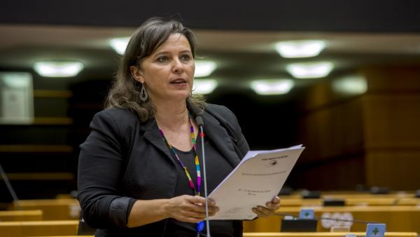 Ana Miranda en la Comisión Europea.