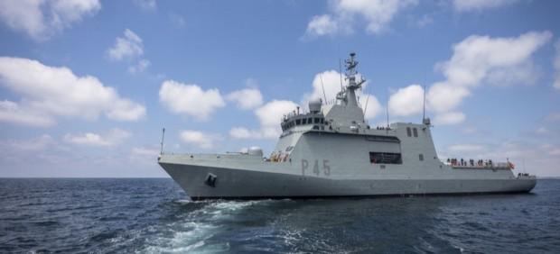 El patrullero 'Audaz' de la Armada