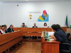 Sesión plenaria de la Mancomunidad