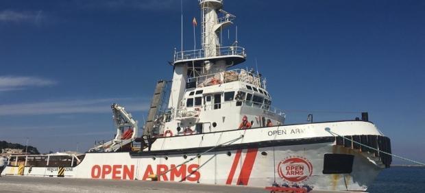 Imagen de archivo del barco de 'Open Arms'.