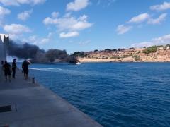 Explosión barco Mallorca.