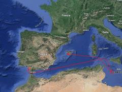 Mapa ruta Audaz