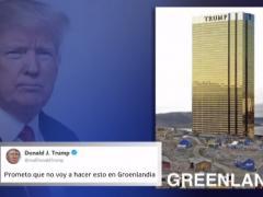 Trump bromea con la compra de Groenlandia