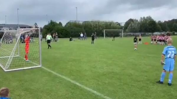 El gol de penalti que ha sorprendido a todo el mundo