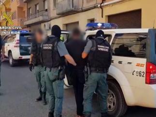 La Guardia Civil ha realizado la detención en Monzón.