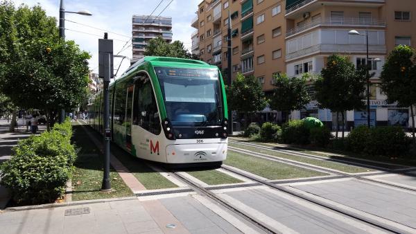 Metro de Granada, en imagen de archivo