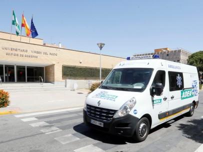 El hospital Virgen del Rocío de Sevilla donde falleció una anciana de 90 años por listeriosis.