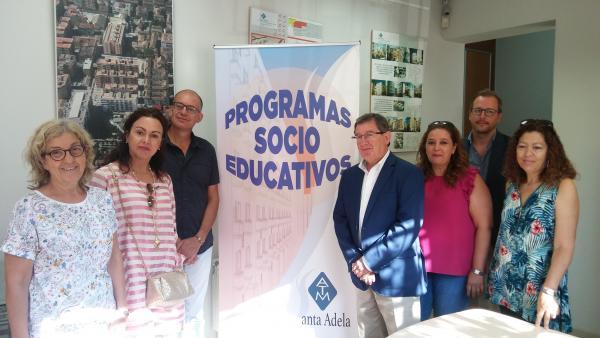 Programa socioeducativo en el marco de la remodelación de Santa Adela, en Granada