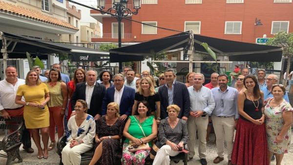 Encuentro de dirigentes del PP con afiliados en Algeciras