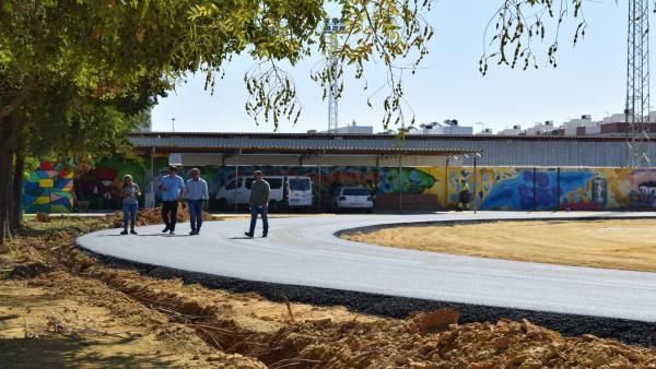 Proyecto de mejora de la pista de atletismo de Los Palacios y Villafranca