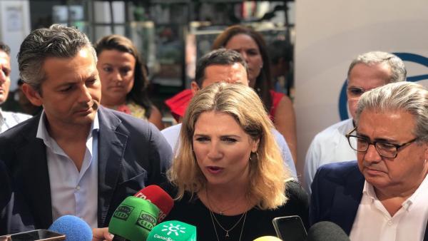Ana Mestre durante la rueda de prensa
