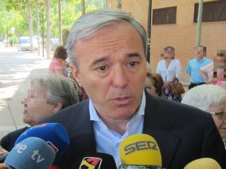 El alcalde de Zaragoza, Jorge Azcón.