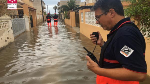 La Diputació de Castelló inicia els treballs per a reparar els danys per les pluges