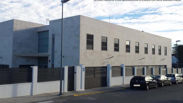 Cuartel de la Guardia Civl en Priego de Córdoba en una imagen de archivo