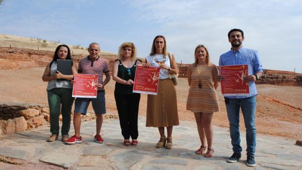 Presentación de las nuevas actividades de ocio previstas en las visitas al Cerro de las Cabezas de Valdepeñas