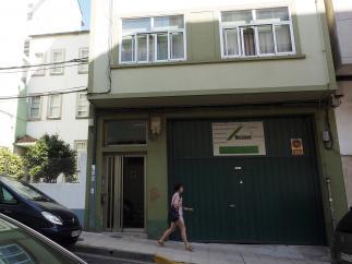 Casa en la que vivía el bebé maltratado en Lugo