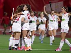 La selección española femenina de hockey