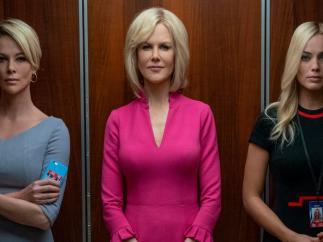 Imagen de Charlize Theron, Nicole Kidman y Margot Robbie en 'Bombshell'