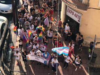 Protesta LGTBi