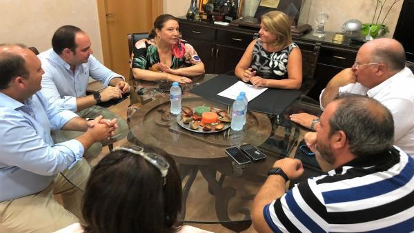 Crespo se reúne con el equipo de gobierno de Gádor