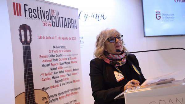 La concejal del PSOE María de Leyva, en imagen de archivo en Fitur