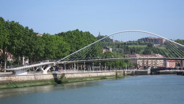 Cielo despejado en Bilbao