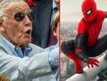 Montaje de Stan Lee y Spider-Man