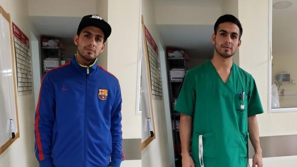 Lautaro Guzmán, el enfermero que denuncia un caso de discriminación clasista