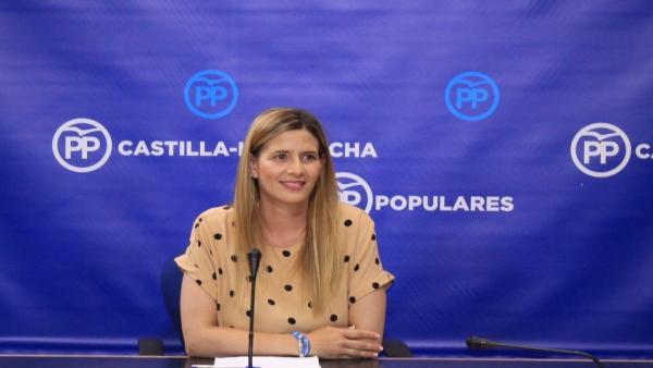 La secretaria regional del PP, Carolina Agudo.