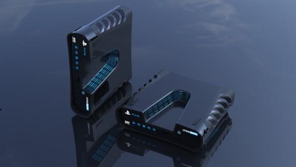 Diseño 3D de PlayStation 5
