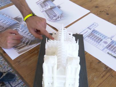 Proyecto para restaurar Notre Dame.