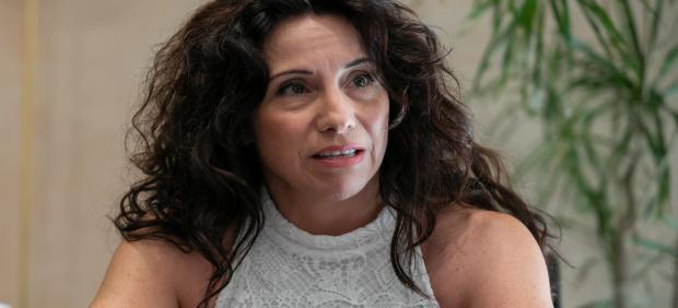 La consejera de Igualdad, Rocío Ruiz, en una entrevista con Europa Press.