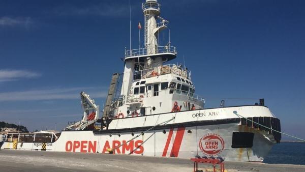 Imagen de archivo del barco de 'Open Arms'