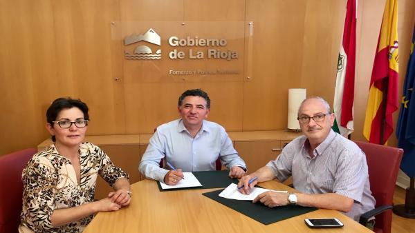 Acuerdo Fomento con Tobía para construir un nuevo depósito de agua potable