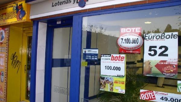 Administración de lotería en Azuqueca de Henares (Guadalajara).