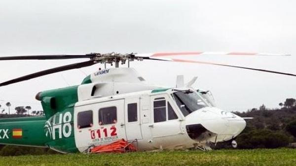 Helicóptero del Infoca en una imagen de archivo