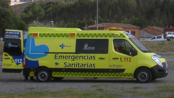 Sucesos.- Herido un hombre de 62 años en el vuelco de un turismo en Soncillo (Burgos)