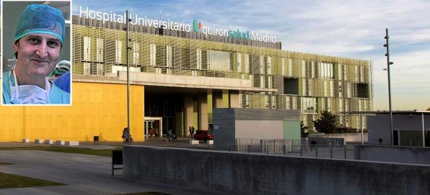 Alberto Forteza y el Hospital Universitario Quirónsalud Madrid