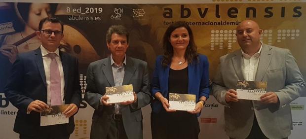 Presentación del festival Abvlensis, con el objetivo de revivir la música de Tomás Luis de Victoria.