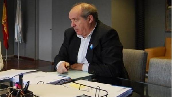 El alcalde de Cerceda, José Luis García Liñares