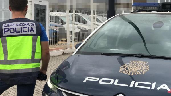 Agente de la Policía Nacional en una imagen de archivo