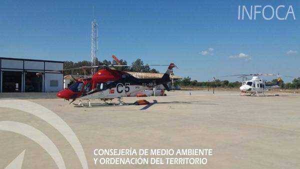 El helicóptero del Infoca Charlie 5 en una imagen de archivo