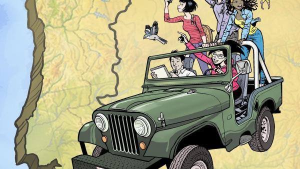 Diputación de Huelva edita un cómic para promocionar la Raya Ibérica