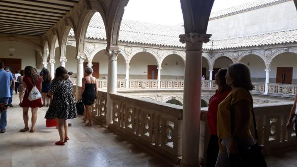 Sede de la UNIA en Baeza (Jaén)