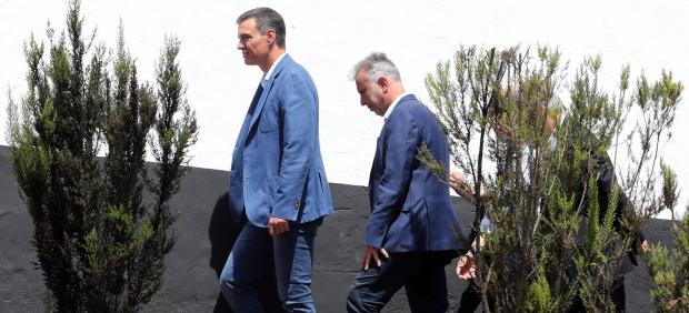 Pedro Sánchez en Gran Canaria esta semana