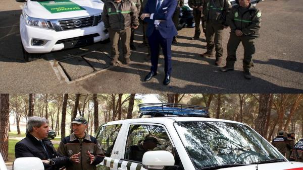 Apamcyl denuncia la diferencia entre la flota de CyL y la de la Comunidad de Madrid donde los vehículos sí que están dotadas de distintivos de emergencia.