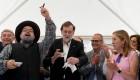 """Mariano Rajoy, pregonero en Ourense: """"¡Viva el vino del Ribeiro!"""""""