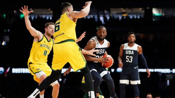 La selección australiana dio un serio aviso a EEUU derrotándolos a una semana del Mundial